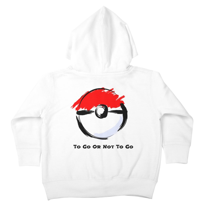 Poke Zen Kids Toddler Zip-Up Hoody by Dark Helix's Artist Shop