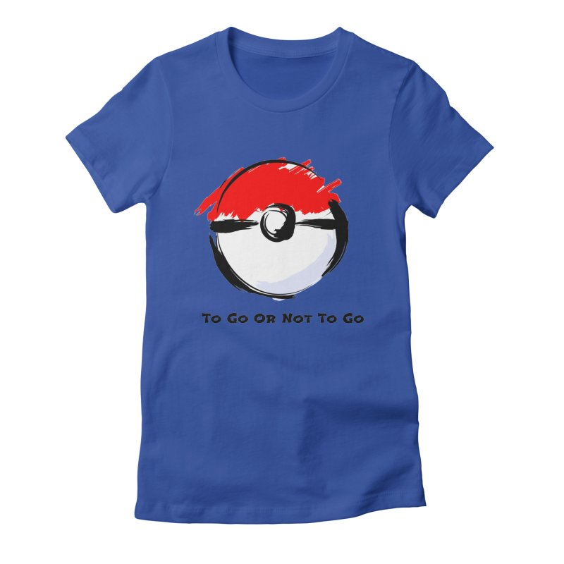 Poke Zen Women's Fitted T-Shirt by Dark Helix's Artist Shop