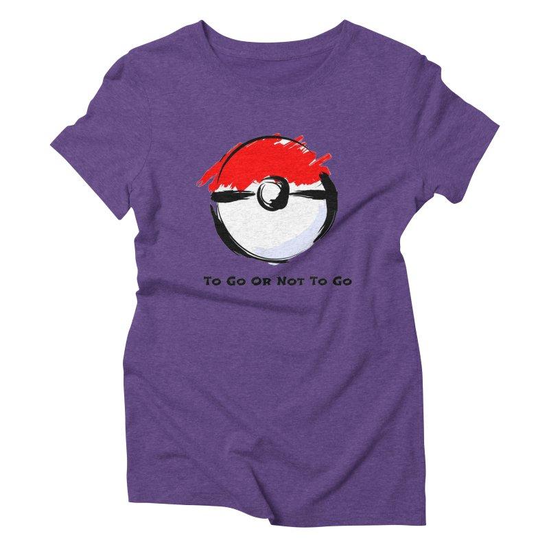 Poke Zen Women's Triblend T-Shirt by Dark Helix's Artist Shop
