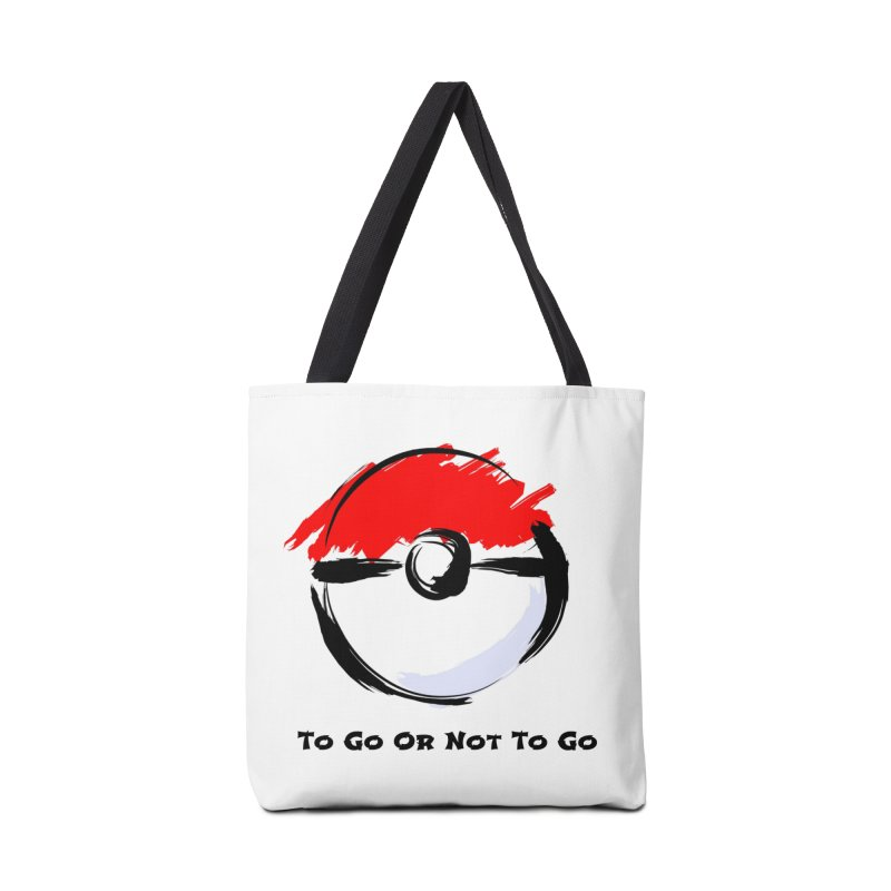 Poke Zen Accessories Bag by Dark Helix's Artist Shop