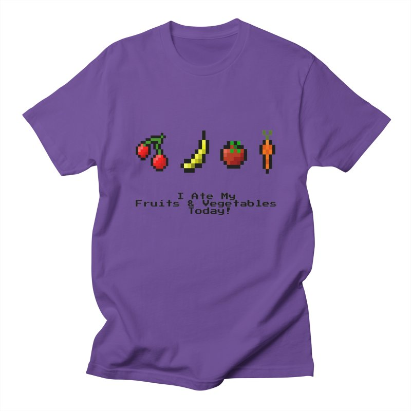 Digital Diet Men's Regular T-Shirt by Dark Helix's Artist Shop