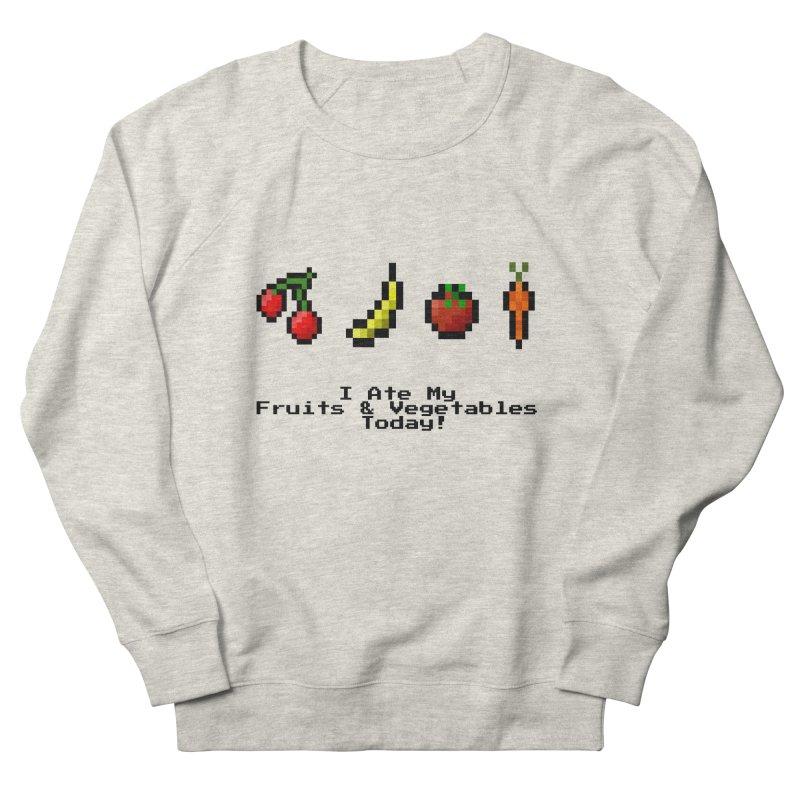 Digital Diet Women's French Terry Sweatshirt by Dark Helix's Artist Shop