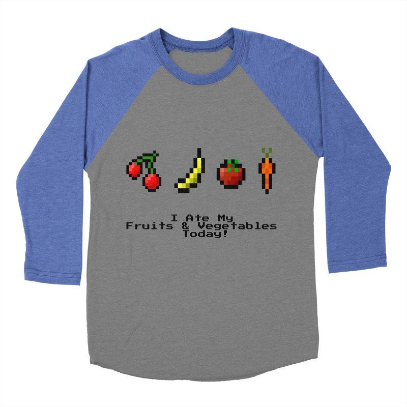 Digital Diet Women's Baseball Triblend Longsleeve T-Shirt by Dark Helix's Artist Shop
