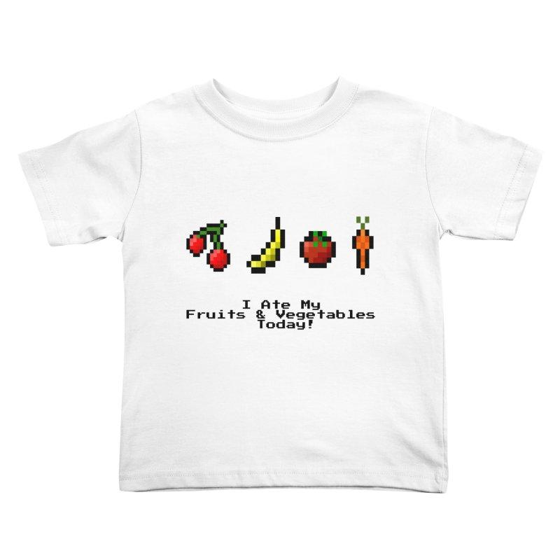 Digital Diet Kids Toddler T-Shirt by Dark Helix's Artist Shop