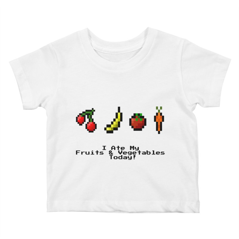 Digital Diet Kids Baby T-Shirt by Dark Helix's Artist Shop