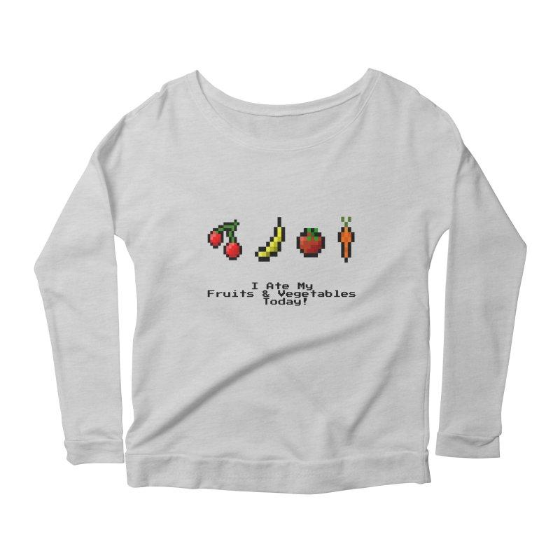Digital Diet Women's Longsleeve T-Shirt by Dark Helix's Artist Shop
