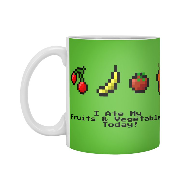 Digital Diet Accessories Standard Mug by Dark Helix's Artist Shop