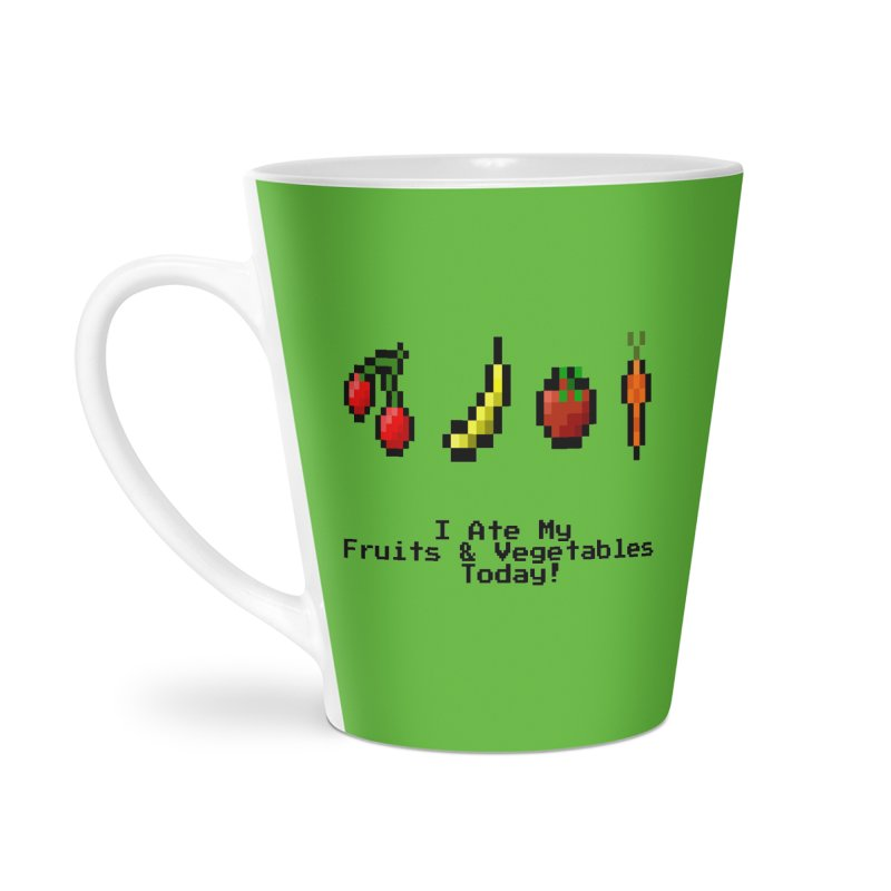 Digital Diet Accessories Latte Mug by Dark Helix's Artist Shop