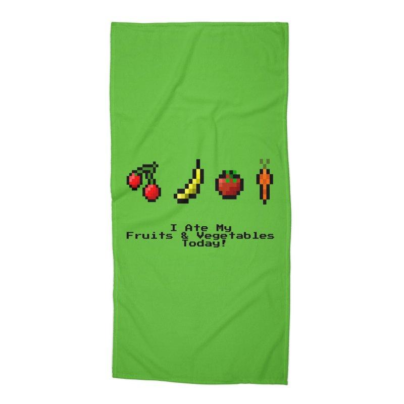 Digital Diet Accessories Beach Towel by Dark Helix's Artist Shop