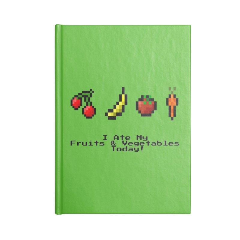 Digital Diet Accessories Blank Journal Notebook by Dark Helix's Artist Shop