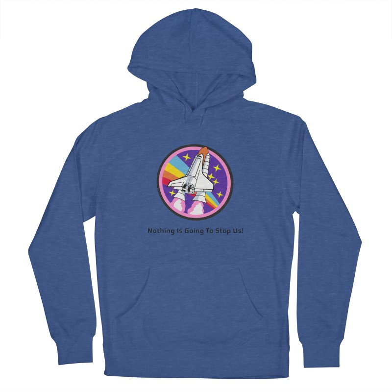 Optimistic Rocket Men's Pullover Hoody by Dark Helix's Artist Shop
