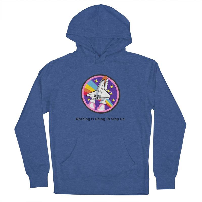 Optimistic Rocket Women's Pullover Hoody by Dark Helix's Artist Shop