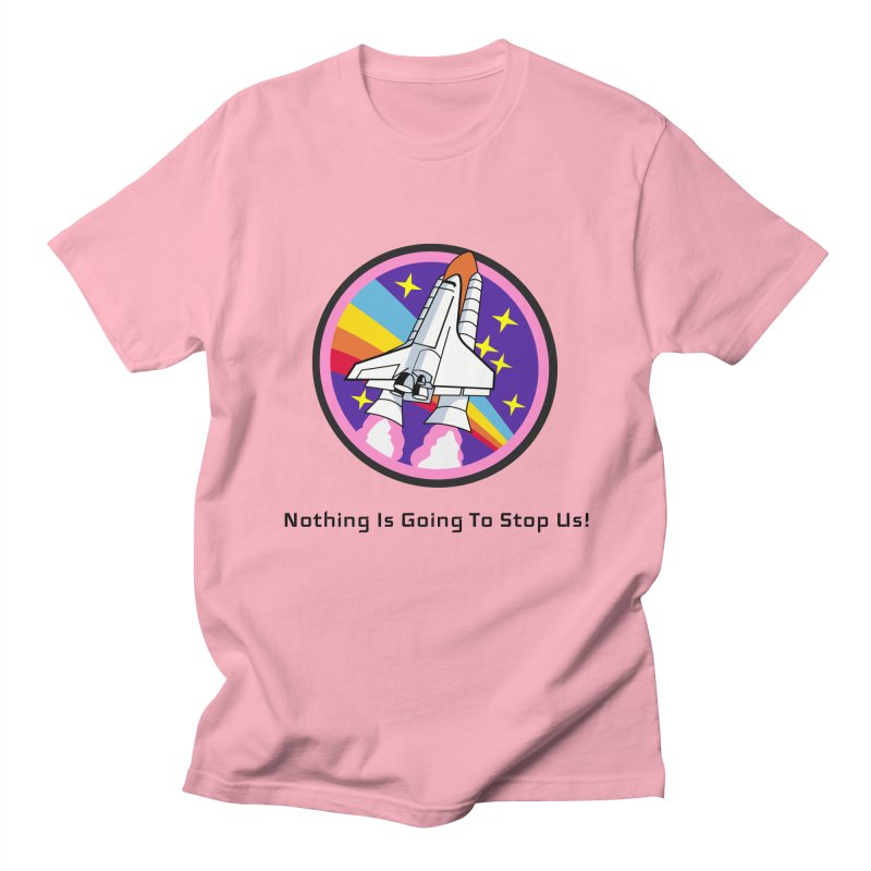 Optimistic Rocket Women's Regular Unisex T-Shirt by Dark Helix's Artist Shop