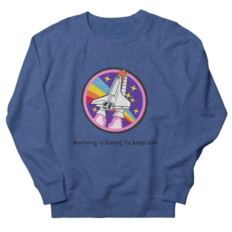 Optimistic Rocket Women's Sweatshirt by Dark Helix's Artist Shop
