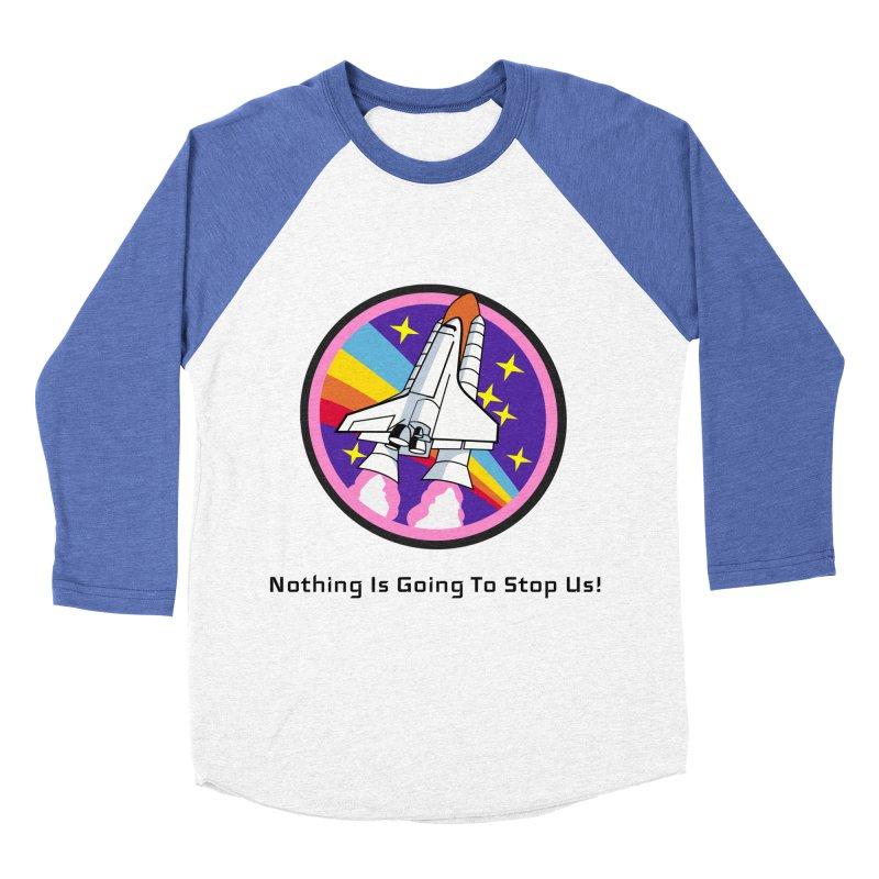 Optimistic Rocket Women's Baseball Triblend Longsleeve T-Shirt by Dark Helix's Artist Shop