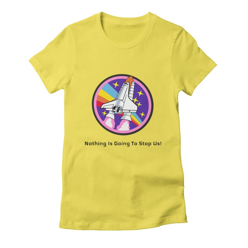 Optimistic Rocket Women's T-Shirt by Dark Helix's Artist Shop