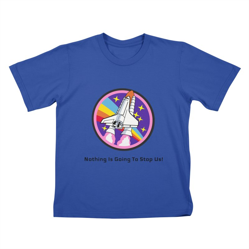Optimistic Rocket Kids T-Shirt by Dark Helix's Artist Shop