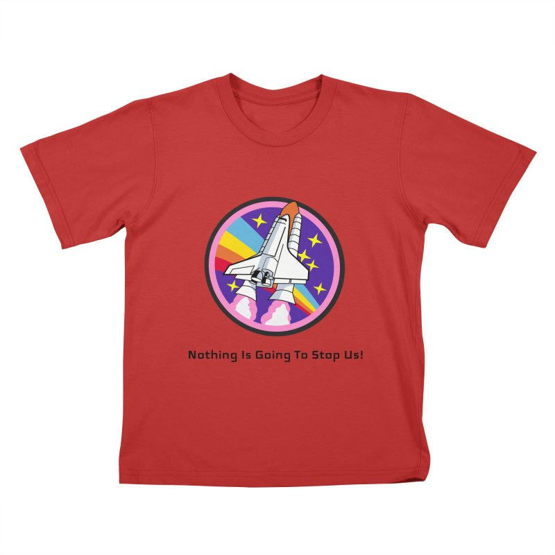 Optimistic Rocket Kids T-Shirt by Dark Helix's Artist Shop