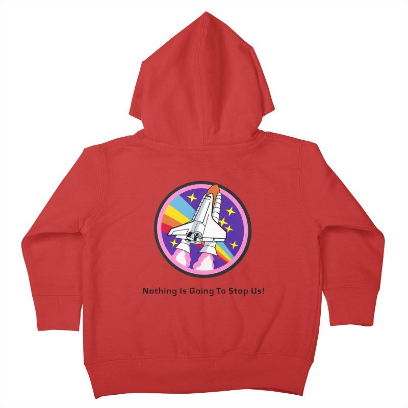 Optimistic Rocket Kids Toddler Zip-Up Hoody by Dark Helix's Artist Shop