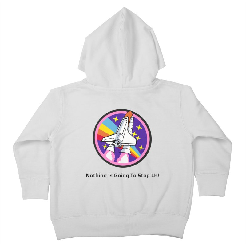 Optimistic Rocket Kids Toddler Zip-Up Hoody by Dark Helix's Artist Shop