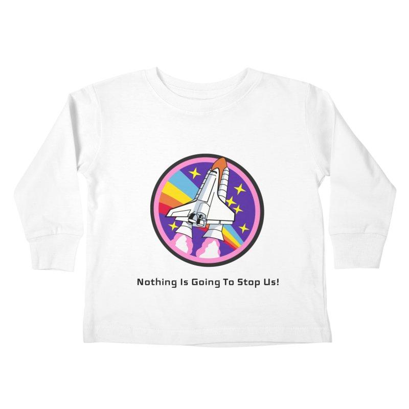 Optimistic Rocket Kids Toddler Longsleeve T-Shirt by Dark Helix's Artist Shop