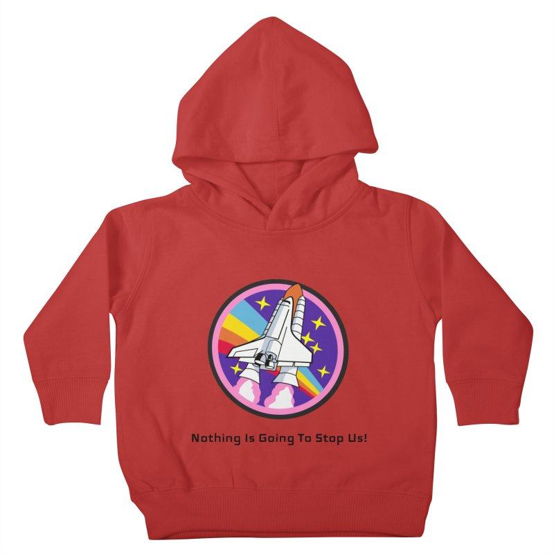 Optimistic Rocket Kids Toddler Pullover Hoody by Dark Helix's Artist Shop