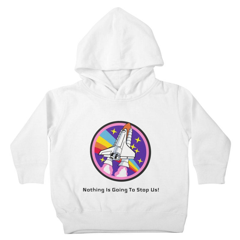 Optimistic Rocket Kids Toddler Pullover Hoody by Dark Helix's Artist Shop