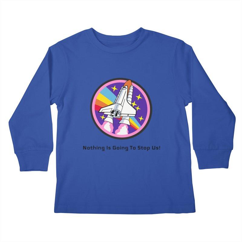 Optimistic Rocket Kids Longsleeve T-Shirt by Dark Helix's Artist Shop