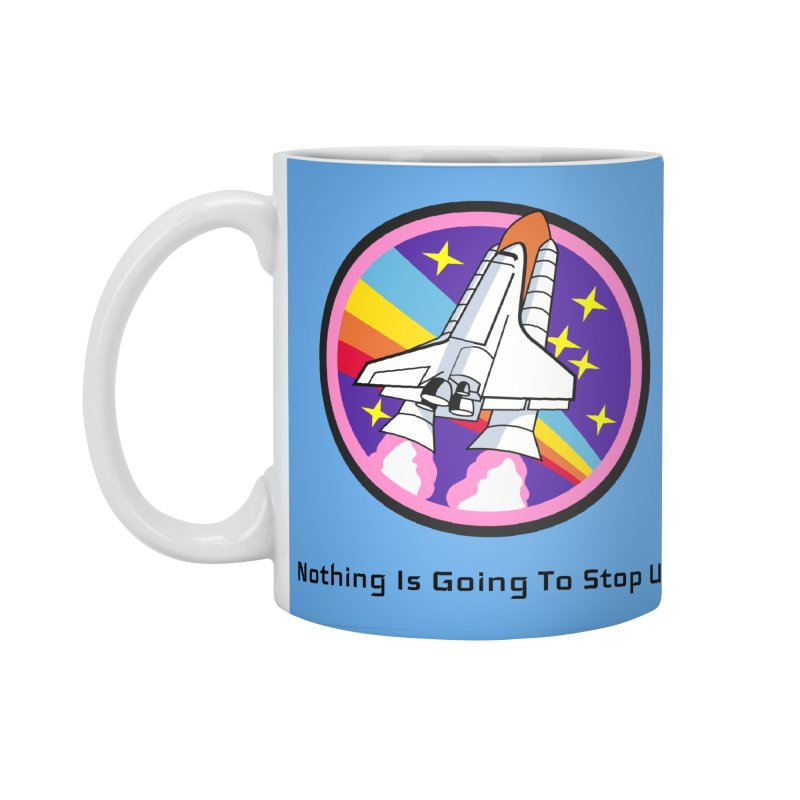 Optimistic Rocket Accessories Standard Mug by Dark Helix's Artist Shop