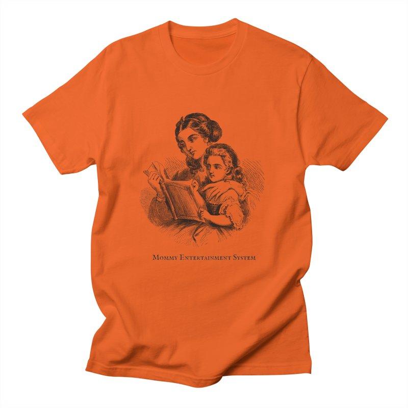Mommy Entertainment System Men's T-Shirt by Dark Helix's Artist Shop