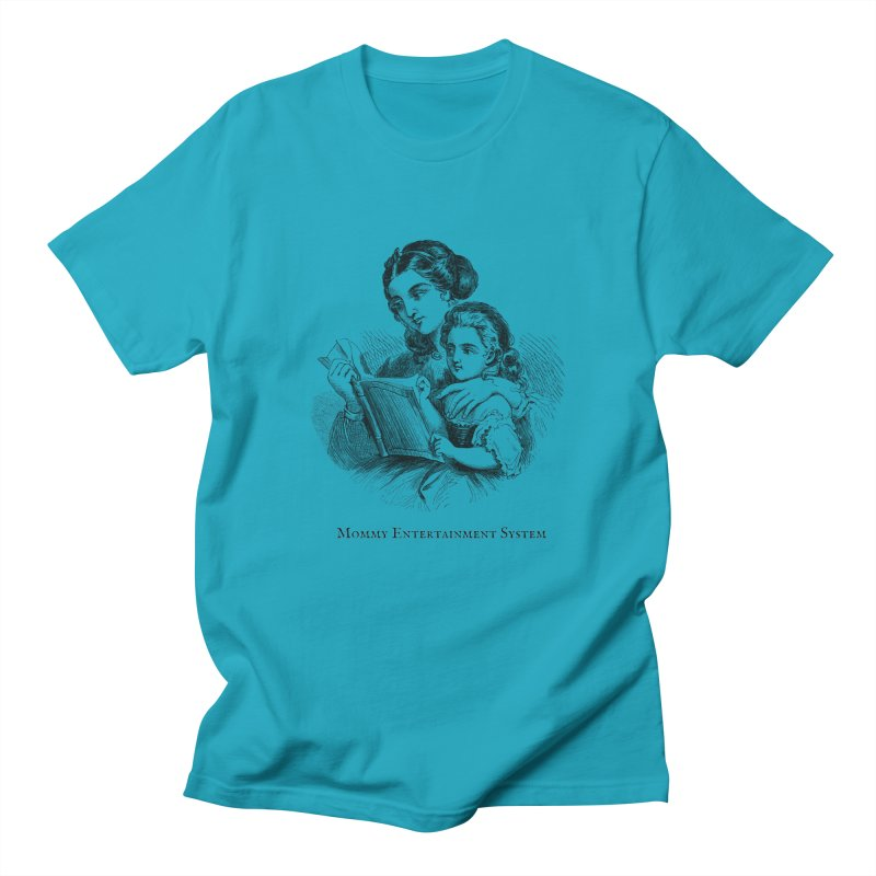 Mommy Entertainment System Men's Regular T-Shirt by Dark Helix's Artist Shop