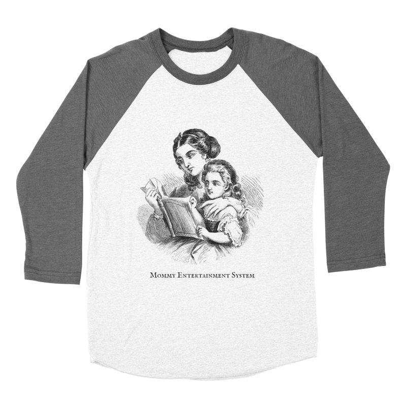Mommy Entertainment System Women's Longsleeve T-Shirt by Dark Helix's Artist Shop