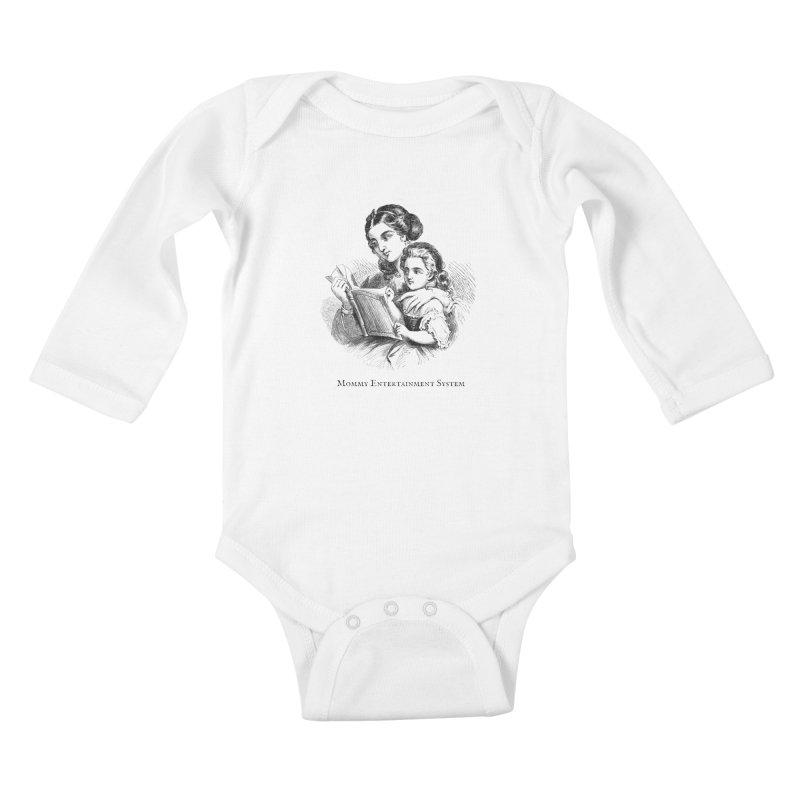 Mommy Entertainment System Kids Baby Longsleeve Bodysuit by Dark Helix's Artist Shop