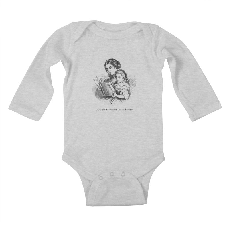 Mommy Entertainment System Kids Baby Longsleeve Bodysuit by Dark Helix's Artist Shop
