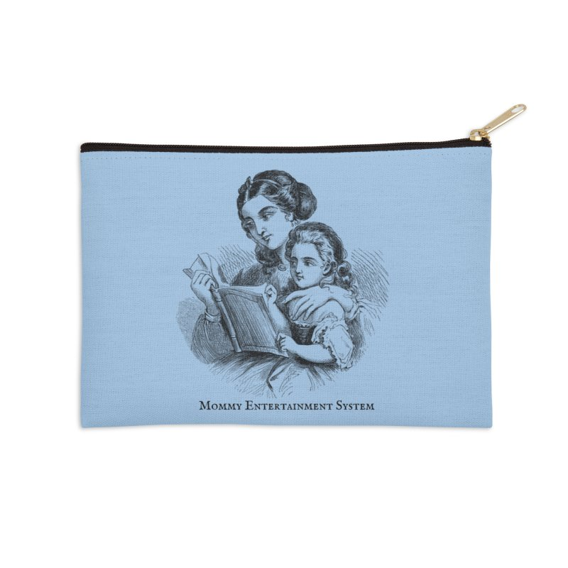 Mommy Entertainment System Accessories Zip Pouch by Dark Helix's Artist Shop