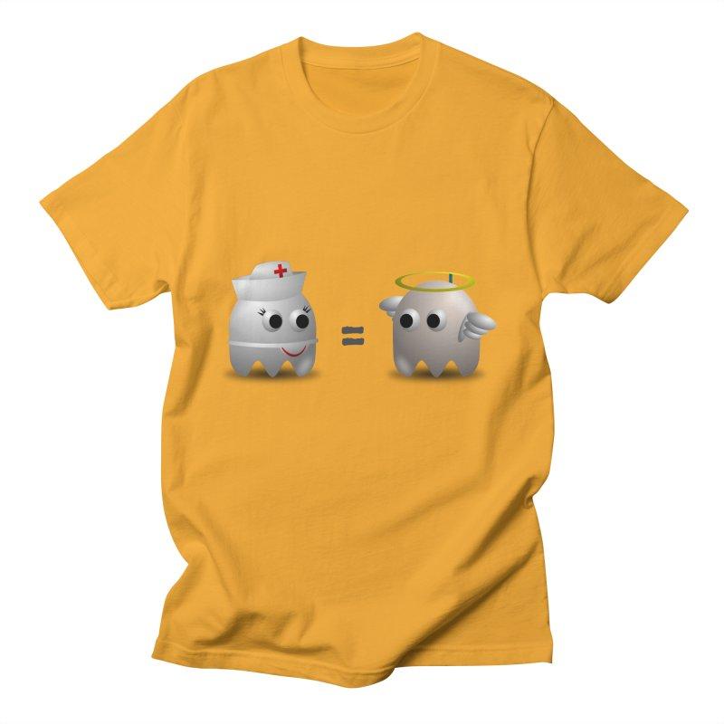 Nurse = Angel Men's T-Shirt by Dark Helix's Artist Shop