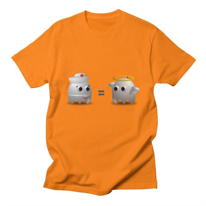 Nurse = Angel Women's Regular Unisex T-Shirt by Dark Helix's Artist Shop