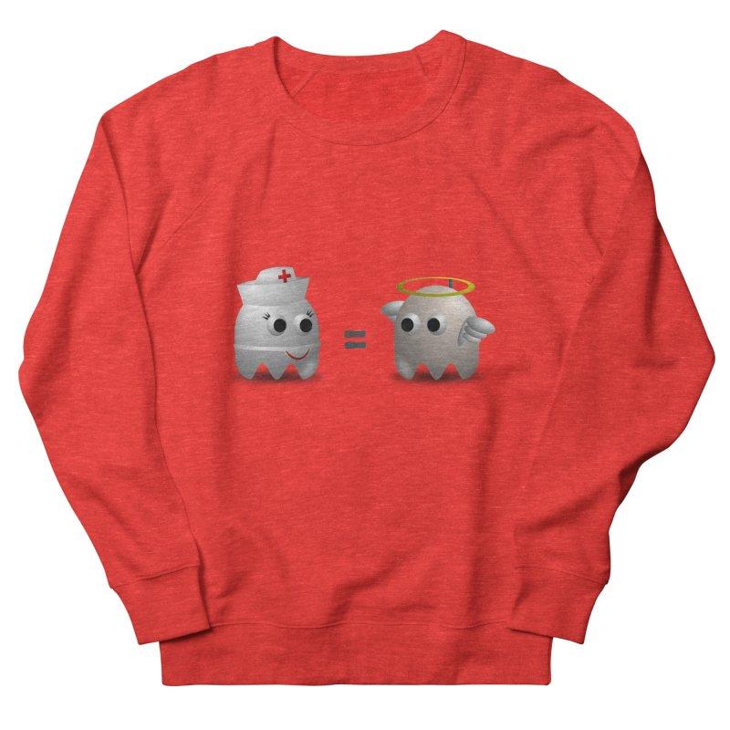 Nurse = Angel Men's Sweatshirt by Dark Helix's Artist Shop