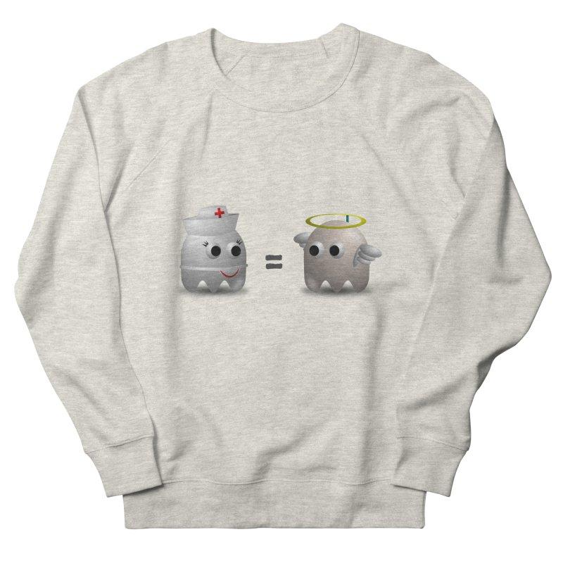 Nurse = Angel Men's French Terry Sweatshirt by Dark Helix's Artist Shop