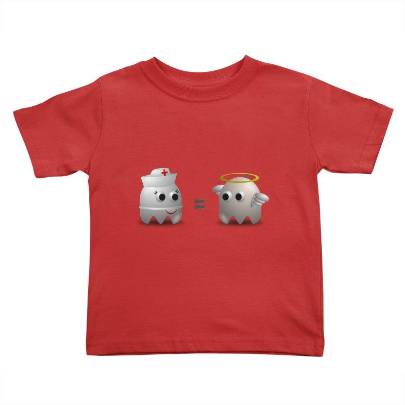 Nurse = Angel Kids Toddler T-Shirt by Dark Helix's Artist Shop