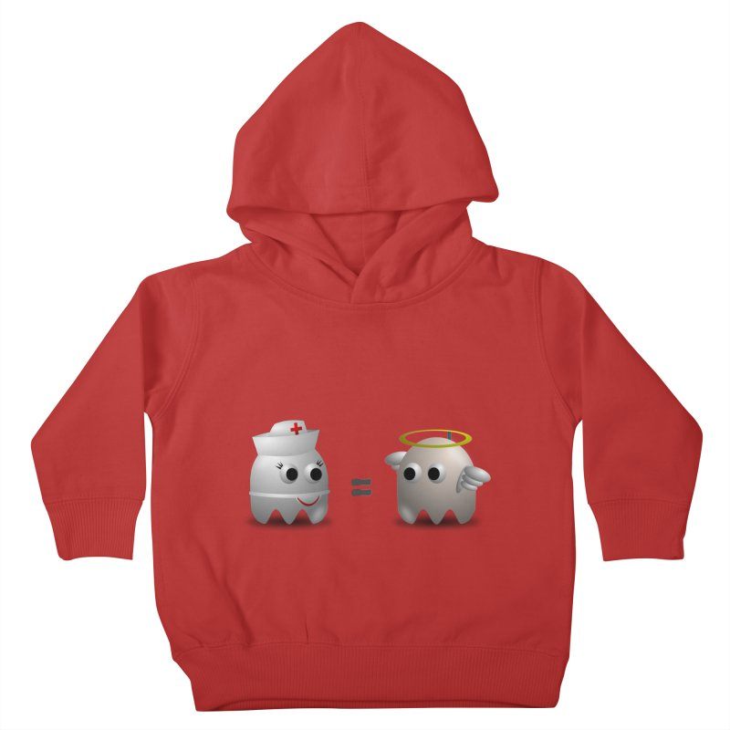 Nurse = Angel Kids Toddler Pullover Hoody by Dark Helix's Artist Shop