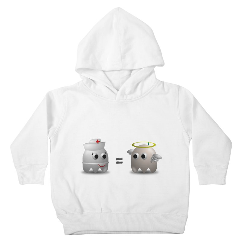 Nurse = Angel Kids Toddler Pullover Hoody by Dark Helix's Artist Shop