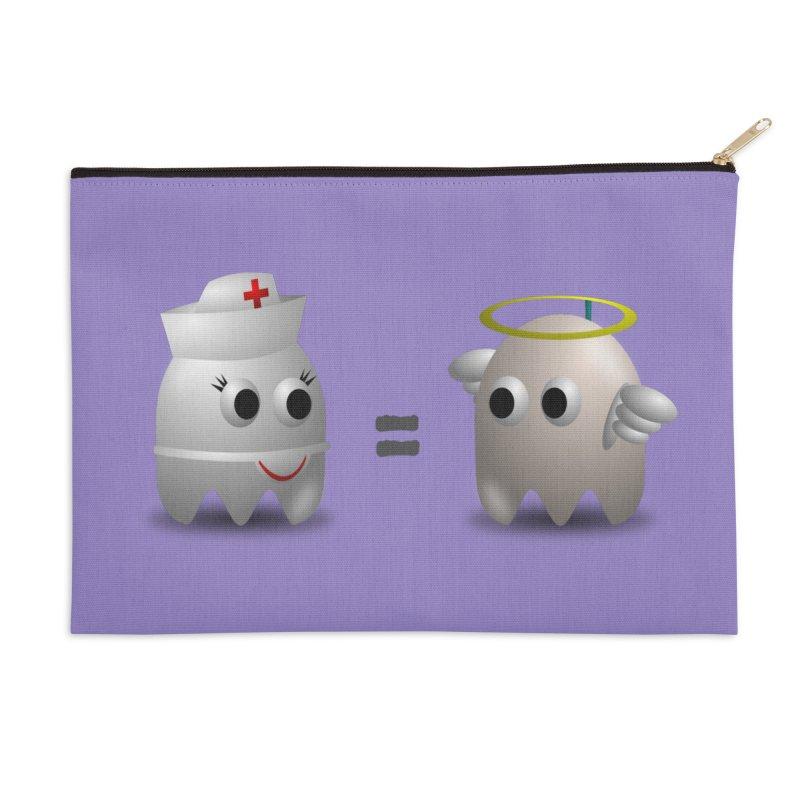 Nurse = Angel Accessories Zip Pouch by Dark Helix's Artist Shop