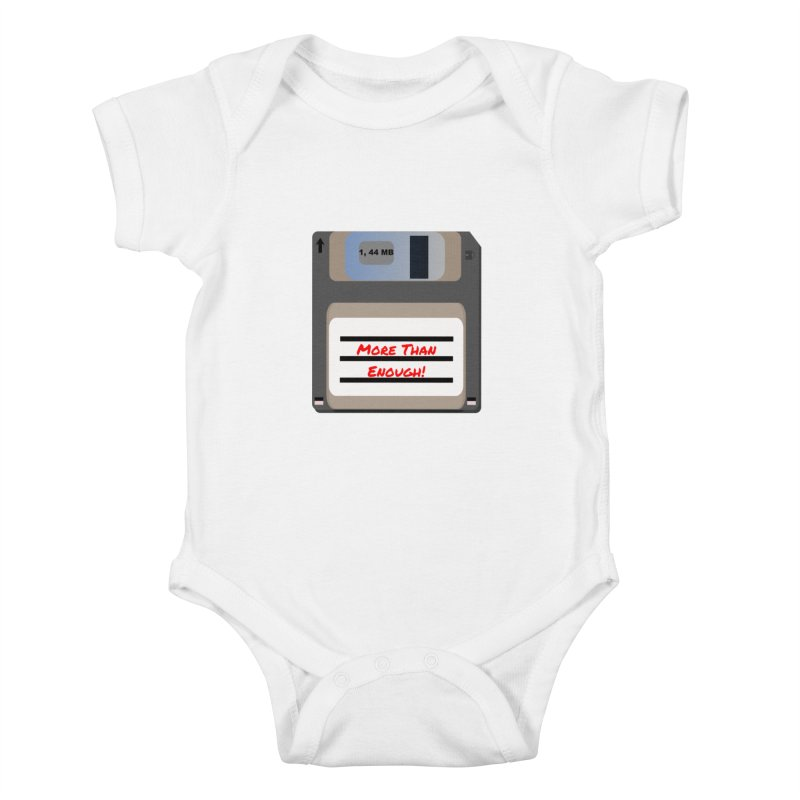 More Than Enough! Kids Baby Bodysuit by Dark Helix's Artist Shop