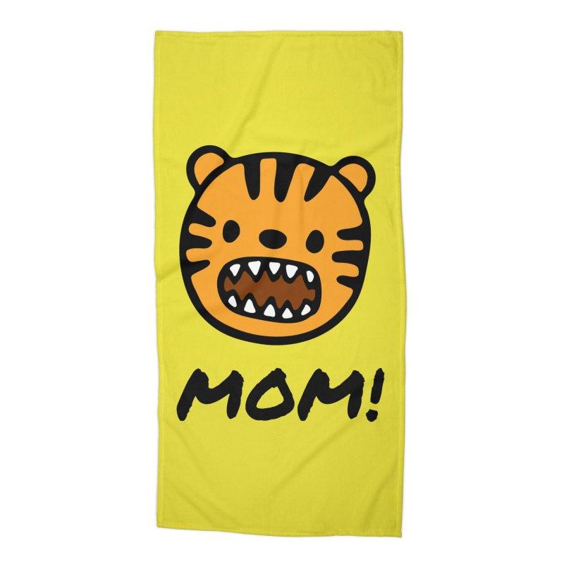 Tiger Mom Accessories Beach Towel by Dark Helix's Artist Shop