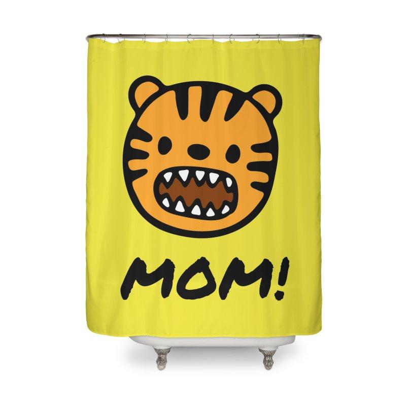 Tiger Mom Home Shower Curtain by Dark Helix's Artist Shop