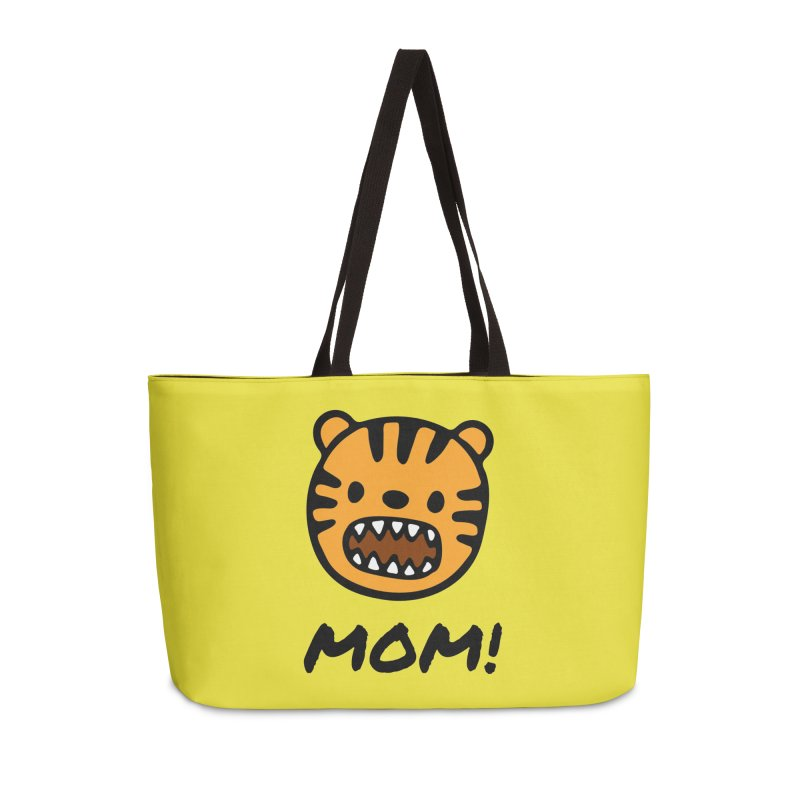 Tiger Mom Accessories Weekender Bag Bag by Dark Helix's Artist Shop