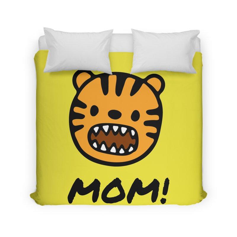 Tiger Mom Home Duvet by Dark Helix's Artist Shop