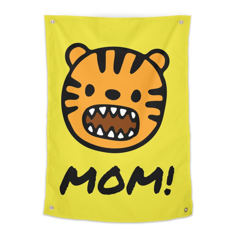 Tiger Mom Home Tapestry by Dark Helix's Artist Shop