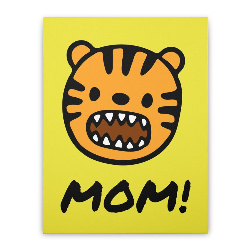 Tiger Mom Home Stretched Canvas by Dark Helix's Artist Shop